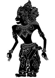 Sita Sings the Blues Shadow Puppet