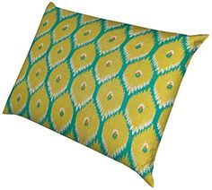 Laural Home Lime Ikat Waterproof Dog Bed 18Inch by 28Inch *** Details can be found by clicking on the image.
