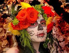 Mexican Catrina #FloresparaCatrina  Floral Design  Floral Arrangements