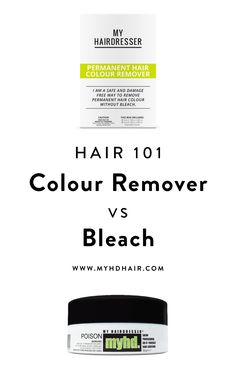 Hair 101: Hair Colour Remover vs Bleach. What is the difference?