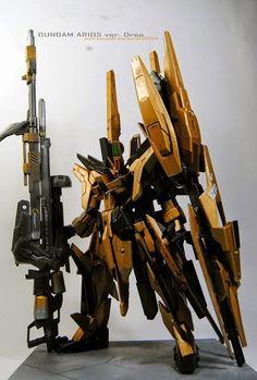 "Custom Build: HG 1/144 Gundam Arios ""Ver. Dree"" - Gundam Kits Collection News and Reviews"