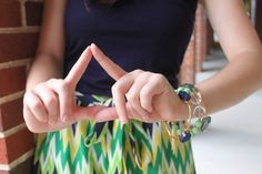 Tri Delta- Sorority Recruitment Style on the #Vignettes Recruitment Rundown