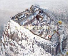 Dacian fortess Piatra Rosie, by Radu Oltean