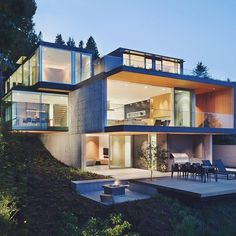 very steep slope house plans hillside home plans at family home plans project steep house pinterest - The Best Home Design