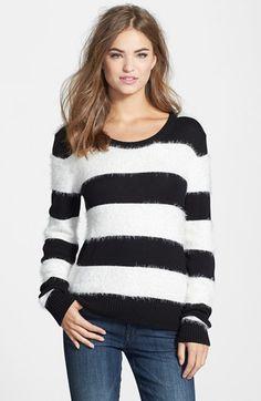 eyelash knit stripe pullover - YUM!!!