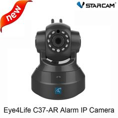 (65.00$)  Buy here  - Vstarcam C37-AR Alarm IP Camera two way audio Support Door sensor/motion detector Home Automation Security Alarm Wireless Camera