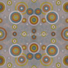 Targets and Circles - acrylic