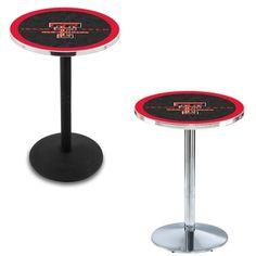 Texas Tech University Round-Base Bar Table at www.SportsFansPlus.com