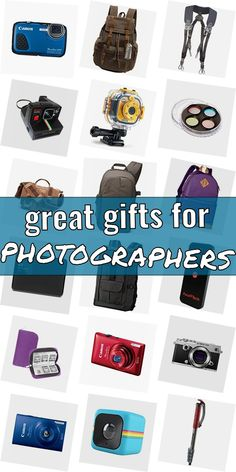 Are you looking for a gift for a photographer? Get inspired! Read our huge article of gifts for photograpy lovers. We show you cool gift ideas for photographers which are going to make them happy. Finding gifts for photography lovers does not need to be difficult. And do not have to be expensive. #greatgiftsforphotographers
