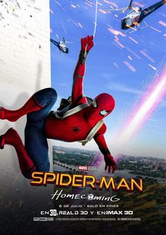 A Brand New International Poster For Spider Man Homecoming Has Been Released