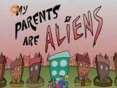 My Parents Are Aliens Theme - Intro - 1999