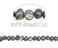 Free shipping!!!Baroque Cultured Freshwater Pearl Beads,Designer Jewelry , 5-6mm, Hole:Approx 0.8mm