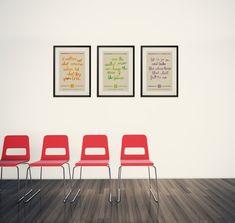 ALL THREE Fantasy Literature 12X18 Posters  by BubblegumPrints