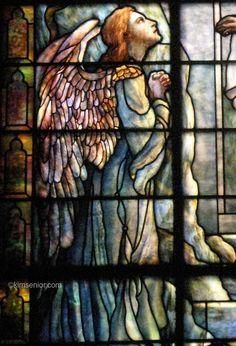 Tiffany Studios   Resurrection window, detail   Leaded glass   Calvary Methodist Episcopal Church, Philadelphia, PA