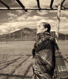 Beautiful Taos Pueblo Man