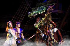 """Listos para zarpar con @PiratesDinAdvCA y seguir la aventura """"Rise of the Sea Dragon"""""""