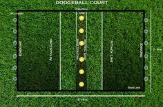 Dodgeball Court WWW.dodgeballextreme.com