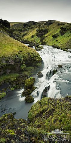 Guardian of the mountains, Waterfall ICELAND