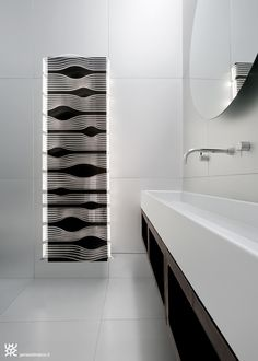 SHINE heating radiator / led lamp - James di Marco