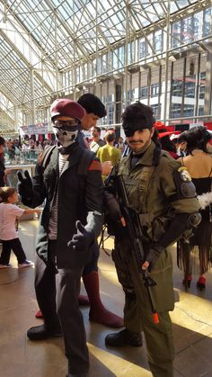 Went to Fan Expo 2016 as a (poorly done) Ocelot Unit soldier in Toronto and met some Snakes a Quiet and David Hayter himself! Even got his autograph. #MetalGearSolid #mgs #MGSV #MetalGear #Konami #cosplay #PS4 #game #MGSVTPP