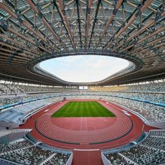 At the end of November 2019, the steel structure new national stadium, the main venue of the 2020 Tokyo Olympic Games, was officially completed. After many bidding, over budget and redesign, the scheme designed by the architects Kuma and Taisei construction team was successfully implemented.   The main structure of the stand is reinforced concrete and steel reinforced concrete structure, with damping between local columns and steel reinforced concrete inclined beam Concrete Structure, Steel Structure, National Stadium, Tokyo 2020, Tokyo Olympics, Steel House, Reinforced Concrete, Qingdao, November 2019