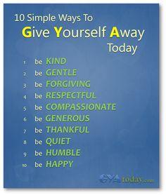 10 Simple Ways