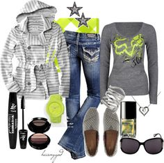 """""""Fox-y Fashion"""" by heismygod on Polyvore"""