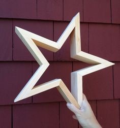 DIY wood stars           Make your own wood stars wall decor just in time for the holiday season, I'll show you how down below.       image...