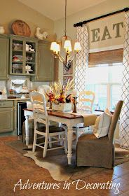 Adventures in Decorating: Breakfast Area Gets A New Look
