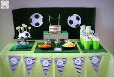 Mesa dulce Fútbol #mesadulcefutbol #futbolcandybar