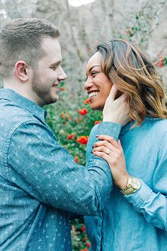 Spring engagements at Memory Grove in Salt Lake City. This is one of my favorite places to shoot because there are so many different locations all in one area. I love the casual outfits for these engagements. - Salt Lake City, Utah. Kenzie Kessler Photography & Videography