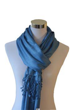Tvamm Lifestyle Pashmina Schal (Blue)
