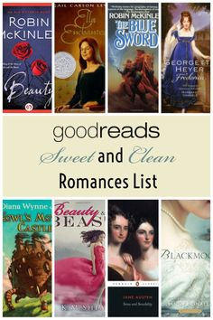 Goodreads Listopia list for Sweet and Clean Romances Regency Romance Novels, Historical Romance Novels, Paranormal Romance, Teen Romance Books, Ella Enchanted, Clean Book, Fantasy Books To Read, Books For Teens, Mystery Books
