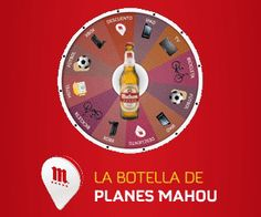 """Participa en el juego de Girar la botella de Mahou, ganarás un premio seguro entre los siguientes: cupones descuento, abonos de futbol del Real Madrid, bicicletas eléctricas, xbox, TV LG 47"""", iPads Mini y Cenas de lujo ...  Promoción válida para España hasta 03/02/2014.  Más información aquí: http://www.baratuni.es/2013/12/regalos-directos-girando-botella-mahou.html  #regalosgratis #regalos #premios #mahou #girarlabotella #baratuni"""