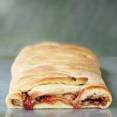 Peanut Butter & Jelly Bread Braid