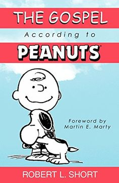 The Gospel According to Peanuts by Robert L. Short http://www.amazon.com/dp/0664222226/ref=cm_sw_r_pi_dp_Aih8vb073Y2J2