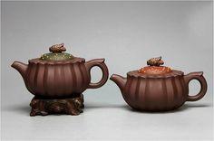 Feng Ju teapot Chinese GongFu TeaPot YiXing by Chinateaware, $170.00