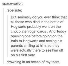 Harry Potter feels