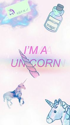 Unicorn cute pink tumblr hipster funny wallpaper background tumblr