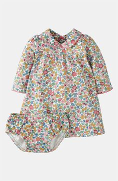 Mini Boden 'Pretty' Jersey Dress & Bloomers (Infant) available at #Nordstrom