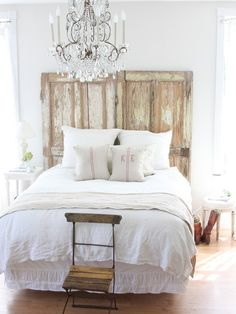 Headboards Made From Old Doors Design, Pictures, Remodel, Decor and Ideas