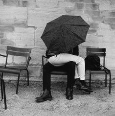 Jardin de Tuileries, 1997 by Louis Stettner