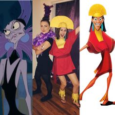 Yzma and Kuzco Costume from Emperor's New Groove  Halloween costume