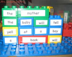 LEGO Poetry | Mrs Lodge's Library