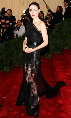 Rooney Mara in Givenchy Couture at the 2012 Met Gala.