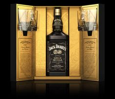 Jack Daniel's Double Gold Medal Limited Edition - The Dieline - The #1 Package Design Website -