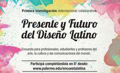 Encuesta: Presente y Futuro del Diseño Latino Words, Cover, Gift, Future, Studio, Blanket, Horse