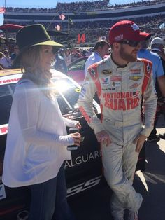 Dale Jr. and Amy at Martinsville