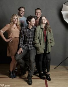"""Cast Of """"Freaks And Geeks"""" Reunited for awesome #VanityFair shoot"""