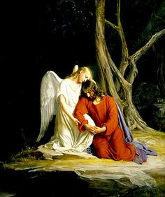 Angels - sme people think e do not need their help. What did Christ do? He allowed an angel to comfort Him and console him in he arden on His night of Agony on Holy Thursday. Follow His example; we all need their help.